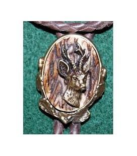 Krawatnik z poroża sarna rogacz