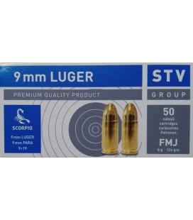 Amunicja kulowa STV 9 mm LUGER FMJ