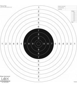 Tarcza pistolet sportowy 520mmx520mm