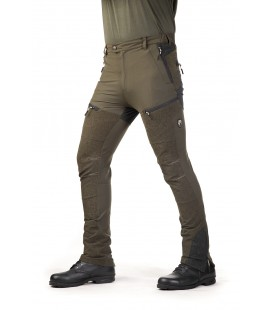 Spodnie Stretch BRENNERO oliwkowe 92014-387