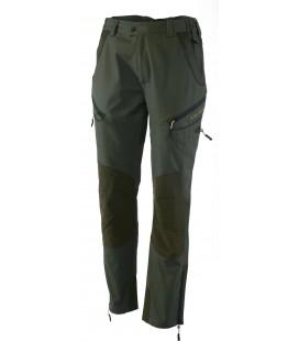 Spodnie polycotton MONVISO zielone 92176-385