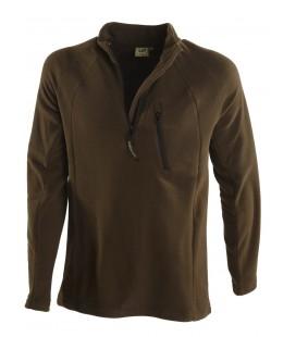 Bluza golf polarowa MICRO z kieszenią, 94041-328