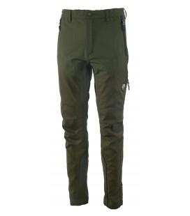 Spodnie CIMONE stretch wzmacniane oliwkowe 92144-387