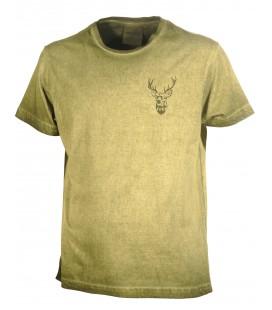 Koszulka T-shirt nadruk mały JELEŃ Univers, 94011-359