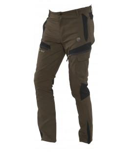 Spodnie wodoodporne TOFANE brązowe/czarne, 92125-302