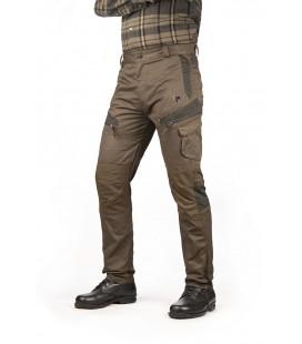 Spodnie polycotton PERNICE wzmocnione zielone, 92367-337-