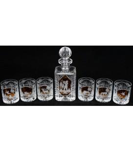 Karafka 6 szklanek
