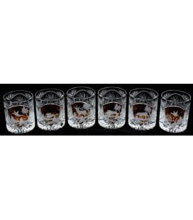 Szklanki kryształ 3 Whisky